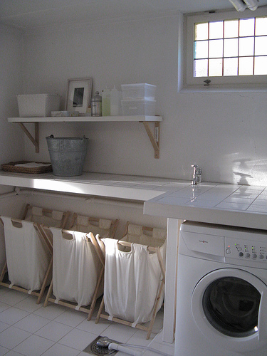 small laundry room ideas | Home Decorating Ideas